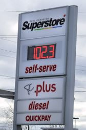 Gas Prices Brockville